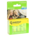 【Ohropax】CE歐盟認證 德國 Ohropax Mini Soft 隔音消音抗噪舒適耳塞
