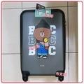 【全新】LINE FRIENDS 熊大ABS行李箱 (20吋) 登機箱
