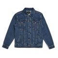 Brixton - CABLE DENIM JACKET WORN INDIGO 深藍色 牛仔外套 現貨販售
