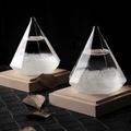 買達人 超神奇天氣預報瓶-鑽石型(附底座) 鑽石型(附底座)