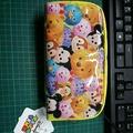 日本帶回/正版迪士尼TsumTsum筆袋/迪士尼/筆袋化妝包/小熊維尼/史迪奇