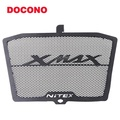 DOCONO Motorcycle Engine Radiator Bezel Grille Protector Grill Guard Cover Protection Engine Radiator Bezel Grill Grille Guard Cover Protector Stainless Steel Engine Radiator Bezel Grille Grill Guard Cover Protector For XMAX 250 XMAX300 XMAX350