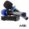 AC Ryan MIXX - Karaoke Mixer w/2 wireless UHF microphones