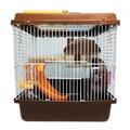 OSIRIS阿毅水族工坊(高雄)--------豪華大鼠籠(雙層...咖啡色)