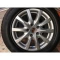 中古 PORSCHE 18吋原廠鋁圈含胎  保時捷 Cayenne Audi Q7 VW Touareg 福斯
