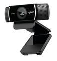 【美國代購】Logitech 羅技 C922 PRO STREAM WEBCAM 1080P 可換背景 卡爾蔡司光學鏡頭 內建雙麥克風
