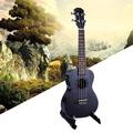 23 Inch Black Acoustic Electric Ukulele 4 Strings Mahogany Panel Ukulele