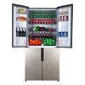 樱花(SAKURA)BCD-489W 489升大容量冰箱对开门四门双门多门电冰箱风冷无霜冷藏冷冻 BCD-489W印象金-四门大冰箱