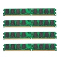 4PCS 2GB DDR2-800MHz PC2-6400 240PIN DIMM AMD Motherboard Computer Memory RAM
