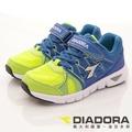 【DIADORA】義大利國寶童鞋-4E高透氣輕量跑鞋(中大童)藍-7AKR5686