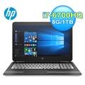 HP 惠普 15-bc027TX 15.6吋 電競獨顯筆電(灰)