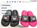 日本熊本熊正版授權 熊本熊親子款 情侶款 SGS品質認證環保拖鞋 室內出外皆宜 防滑 防水 (2.8折)