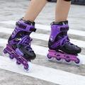 溜冰鞋成人專業直排輪平花鞋旱冰鞋輪滑鞋成年男女N17 型男原創館