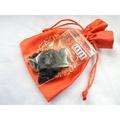 【Ruby工作坊】「直購價30G+福袋+送招財符一張」NO.2NBS中號天然黑碧璽碎石福袋
