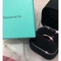 🚚 Tiffany & Co. Harmony 18K玫瑰金鑽石戒指 聖誕禮物 求婚戒 訂婚戒 生日禮物 附盒子緞帶正品 購於專櫃 2018最新款式 絕美