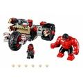 [樂漫]LEGO  漫威 76078 紅浩克 女紅浩克 戰車 單賣