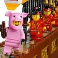 樂高80102/舞龍中國主題:舞龍人偶