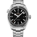 OMEGA 歐米茄 海馬600米黑圈白字 同軸機芯潛水錶-45.5mm