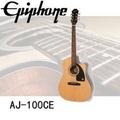【Epiphone】AJ-100CE 電木吉他 / 含琴袋、肩帶、導線、匹克、保養組 公司貨保固