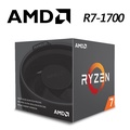 AMD Ryzen 7-1700 3.0GHz八核心處理器(內含風扇)-R7-1700