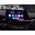 威德汽車精品 TOYOTA 豐田 CHR C-HR 安卓機 9吋 多媒體導航 主控面板 影音系統 手機同步 實車安裝