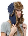 Trapper Hat with Faux Fur   Ear Flaps - Ushanka Aviator Russian Hat for  Serious Expeditions   Seriou 255afcdb5b23