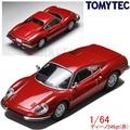 『 單位日貨 』3月 日本正版 TOMICA TOMYTEC法拉利 Ferrari 246GT 1/64 合金 小車