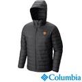 【Columbia哥倫比亞】曼聯保暖連帽外套-黑色 UXO16420BK