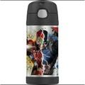 【貝貝媽咪美國團購村】美國2015最新款有提把膳魔師 THERMOS 軟吸管式保溫瓶 —美國隊長+鋼鐵人