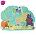 Oribel-Vertiplay創意壁貼玩具-Hoppy Bunny &Friends 兔兔與朋友們