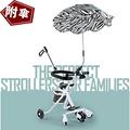 頂級版 溜娃神器 兒童手推車 可遮陽 五輪手推車 折疊手推車 娃娃車(附傘)