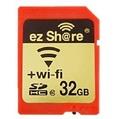 【貞shop】易享派Share 32G WiFi SD卡 eyefi高速相機WiFi無線分享記憶卡