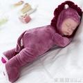 兒童仿真娃娃寶寶會說話的智慧洋娃娃嬰兒睡眠布娃娃女孩公主玩具 愛麗絲