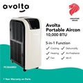 AVOLTA Portable Aircon PC30AMEII 10,000 BTU with Wi-Fi