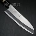 F-701AF-702A藤次郎tojiro日本菜刀手工鍛打三德菜切 拋光白紙鋼夾鋼日式刀柄