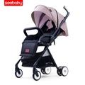 Seebaby Baby Umbrella, Light Folding, Can Sit, Can Lie Baby Stroller, High Landscape Baby Stroller - intl