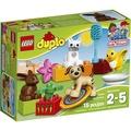 【美國連線嗨心購】官方正貨►美國專櫃LEGO DUPLO 可愛動物樂高積木►15 Pieces►適合2-5歲