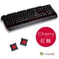 i-Rocks 艾芮克 IRK60M cherry 紅軸+IRM09 鍵盤滑鼠組 2年保固 全背光鋁合金機械式電競鍵盤 K60M【迪特軍3C】