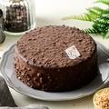 北海道金莎巧克力乳酪蛋糕 (6吋) 優質日本北海道乳酪內層 50% 巧克力+杏仁角  ✿ 巧克力控必吃!! ✿【紅鞋女孩手作甜點工作室】