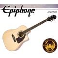 【小麥老師樂器館】Epiphone AJ-220SCE 單板 電民謠吉他 電木吉他 原木色 木吉他 吉他 AJ220