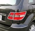 ~圓夢工廠~ Benz 賓士 W245 B170 B180 B200 2006~2012 鍍鉻車燈框 後燈框 尾燈框