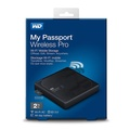 WD 2TB My Passport Wireless Pro WiFi USB3.0 WDBP2P0020BBK-NESN