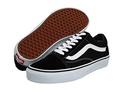 (Vans) Vans Unisex Old Skool Skate Shoe (12 D(M), (Canvas) Black/True White)-Old Skool