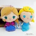 【UNIPRO】迪士尼正版 冰雪奇緣 FROZEN Q版 艾莎 ELSA 安娜 ANNA 絨毛娃娃 站姿玩偶 吊飾 禮物