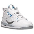 NIKE AIR JORDAN FLIGHT 45 白銀 中高筒 童鞋 US 6.5 364757-107 J倉
