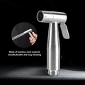 Stainless Steel Hand Held Toilet Bidet Sprayer Bathroom Shower Water Spray Head