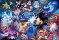 【進口拼圖】迪士尼 DISNEY-米奇魔術秀 雷射拼圖 100片 D-1000-384