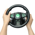 Racing Game Steering Wheel for XBOX 360 Game Console PS2 for PS3 PC Vibration Car Steering-Wheel with Pedals