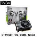 EVGA 艾維克 GTX1050Ti 4GB ACX2.0 顯示卡(04G-P4-6251-KR)