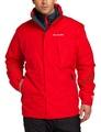 美國百分百【全新真品】Columbia 外套 夾克 連帽 哥倫比亞 登山 滑雪 紅色 兩件式 防水 男 M號 E517
